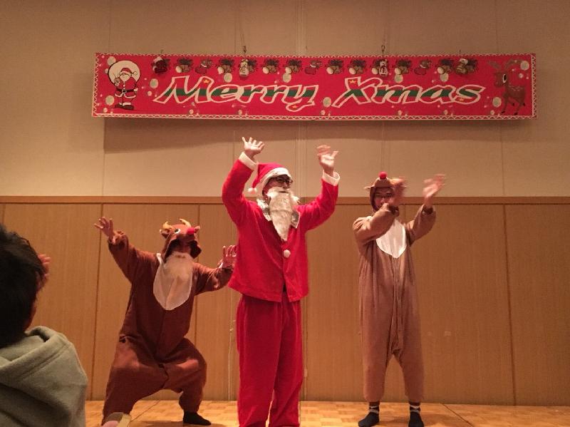 クリスマス会 テーマ「こころおどるクリスマス」