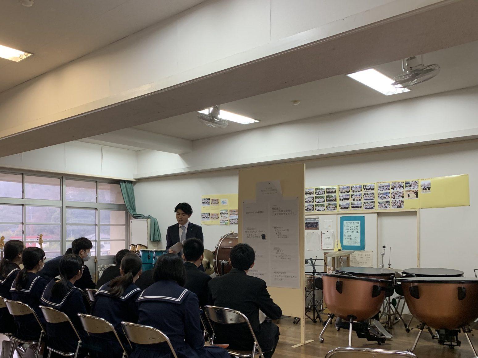 中学校3年生ポスターセッション発表会