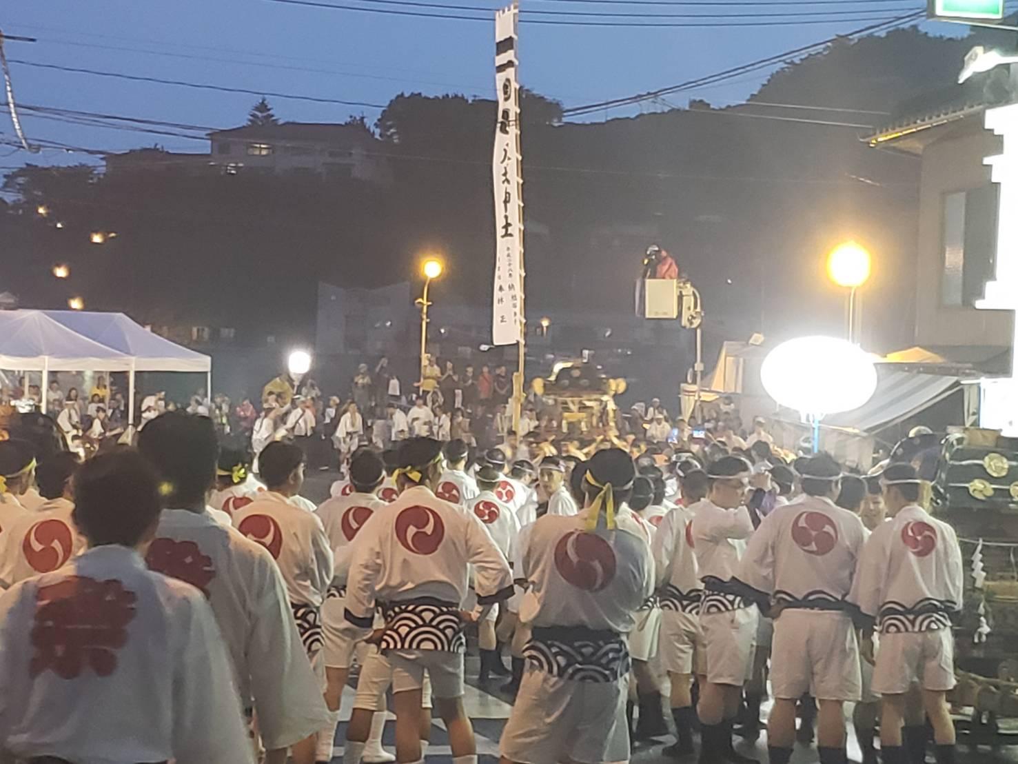 尾道祇園祭三体廻し